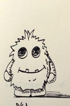 Inktober 2016 Monsterchen