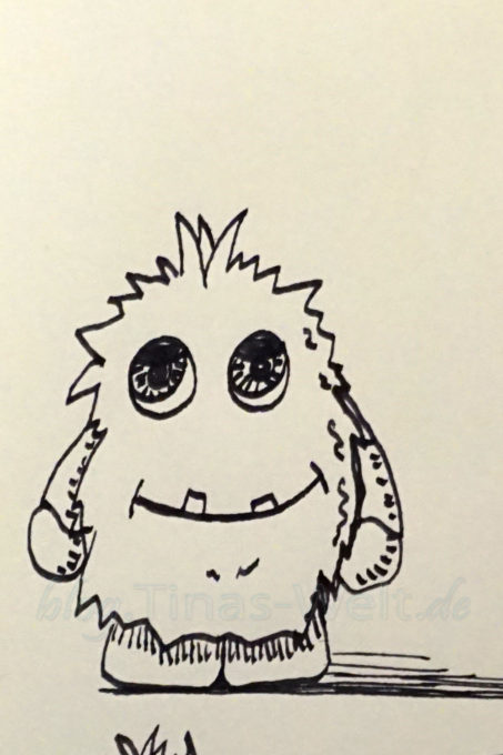 Inktober 2016 Monsterchen
