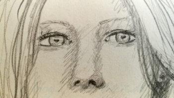 Quick Sketch #3 - Augen