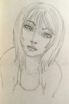 Quick Sketch #4 - Portrait