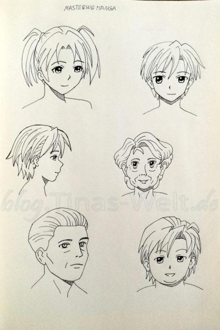 Quick Sketch #6 - Manga Portraits