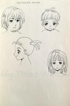Quick Sketch #8 - Manga Portraits