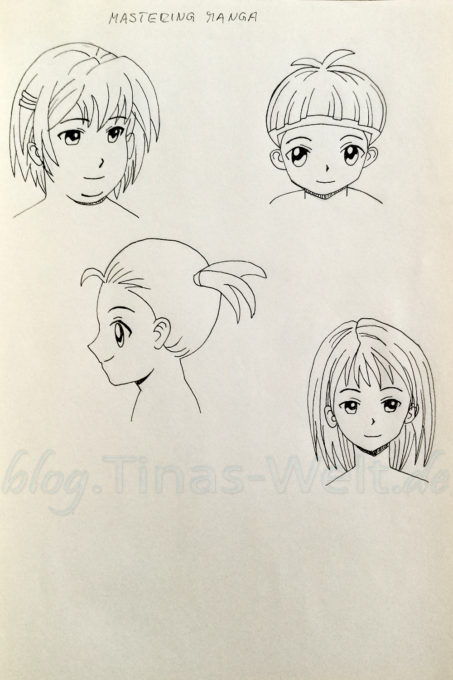 Quick Sketch #8 - Manga Portraits