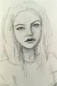Quick Sketch #2 - Portrait