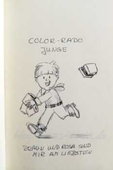 Quick Sketch #13 - Color-Rado Junge