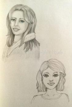 Quick Sketch #16 - zwei Portraits