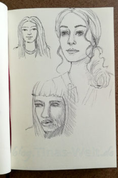 Quick Sketch #18 - Portraits