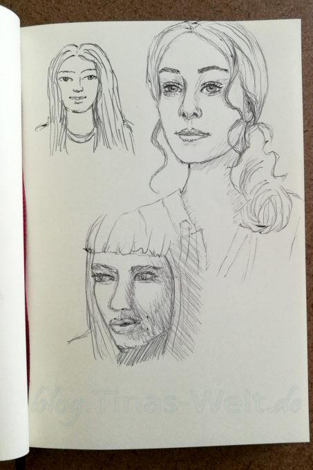 Quick Sketch #18 - Portraits