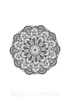 Mandala Vorlage
