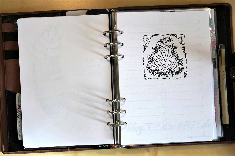 Bullet Journal / Filofax April + Diva Challenge #308 | blog.Tinas ...