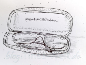 Quick Sketch #21 - Brille