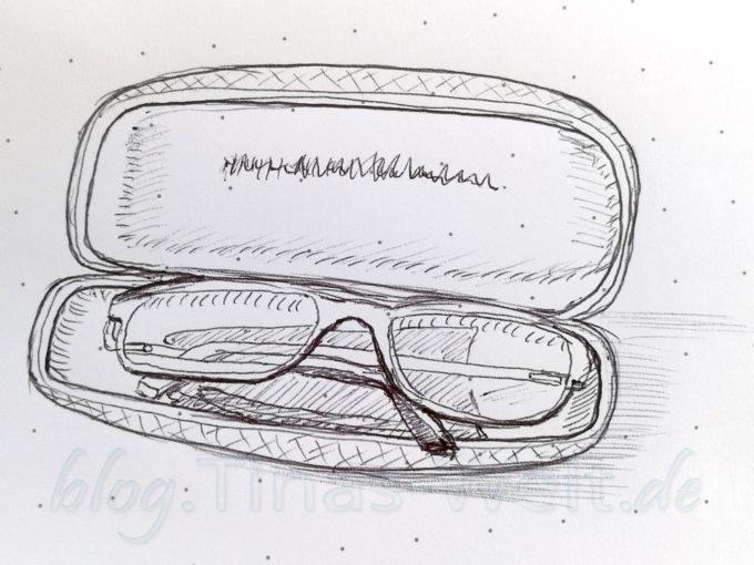 Quick Sketch #21 - Brille