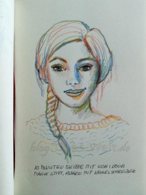 Quick Sketch #22 - Portrait