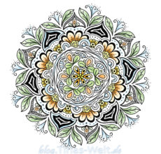 Digitales Mandala
