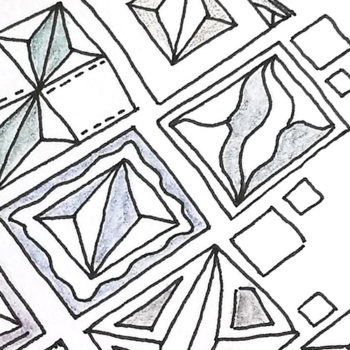 Muster DivaChallenge #329 - Wellenlinien