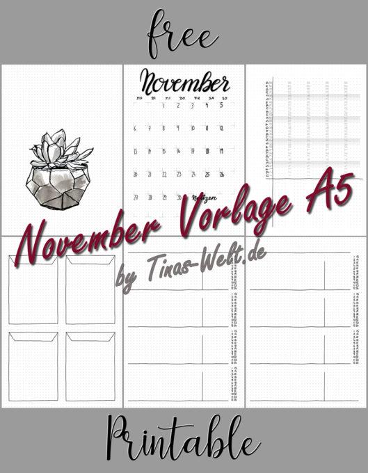November 2017 - Vorlagenübersicht