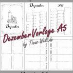 Dezember 2017 - Vorlagenübersicht