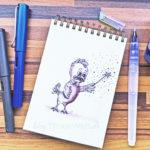 05 Inktober - Zauberhühnchen