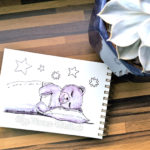 07 Inktober - Schlafend