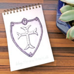 13 Inktober - Schild