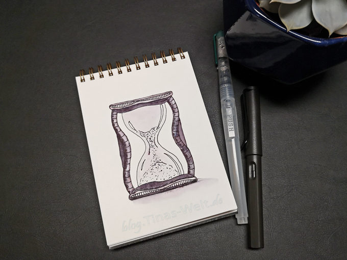 14 Inktober - Sanduhr