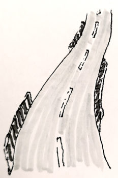 Sketchnote Straße